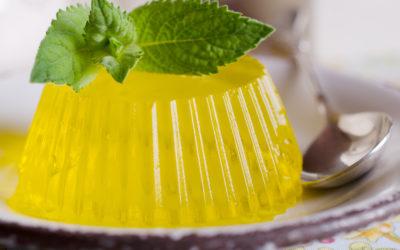Una gelatina vegana gracias a la fermentación.